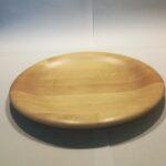 Dreid tallerken/fat i Norsk bjørk.25cm